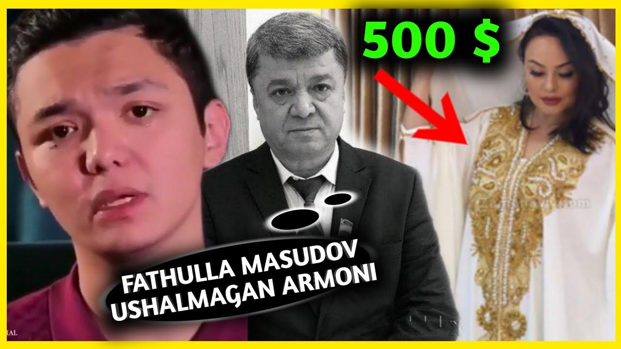 FATHULLA MASUDOV QANDAY..... BRAVOCHI SHAHLO ENG QIMMAT KIYMINI KIYDI 500 $