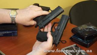 видео обзор Травматические пистолеты Форт. Вся линейка. Распаковка и разборка