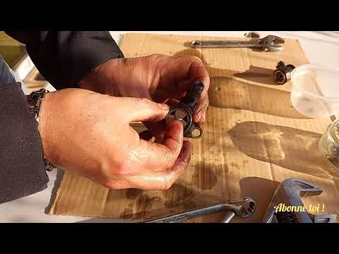 injecteur 1.6 hdi  et 1.6 tdci démontage et néttoyage