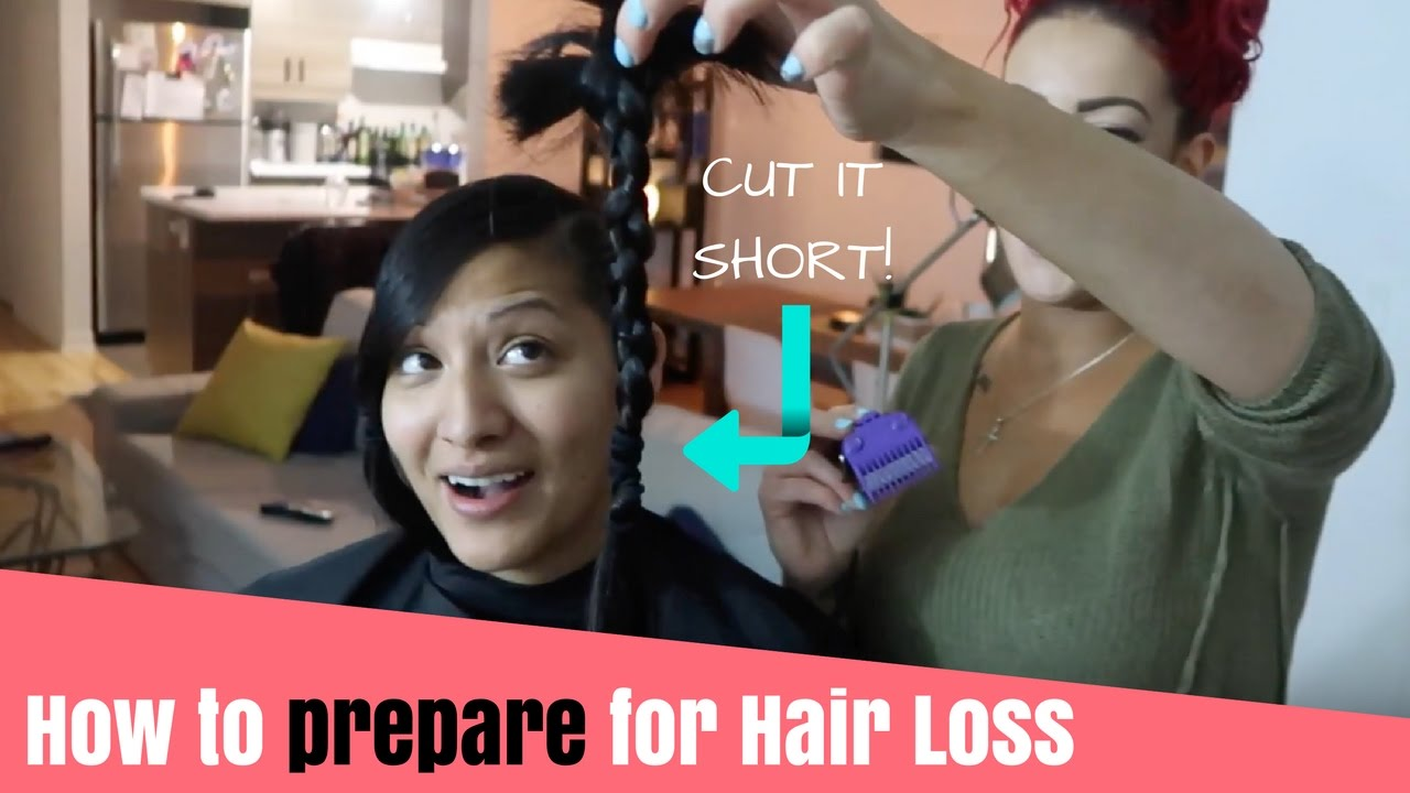 how to prepare for hair loss post-chemo - cut it short | part 1