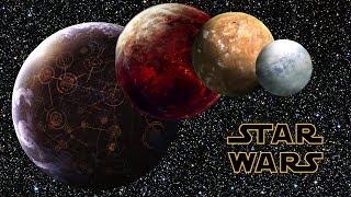 Czy życie mogłoby istnieć na planetach ukazanych w Gwiezdnych Wojnach?