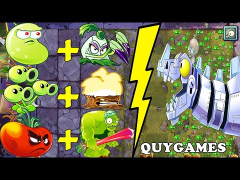 Plants VS. Zombies 2 | BEST COMBO Plants & Zombot: Gameplay 2020