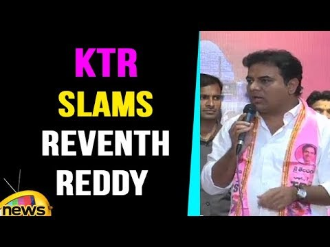 Minister KTR Slams Revanth Reddy And Congress With Humour | Mango News