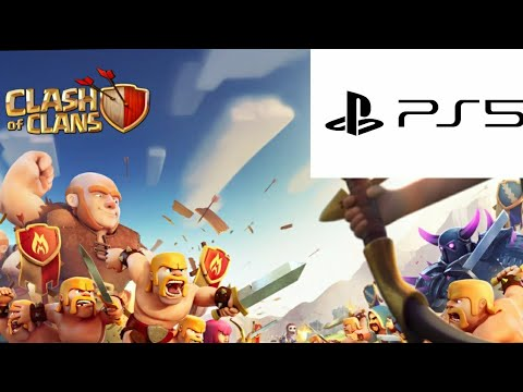 CLASH OF CLANS FOR THE PS4