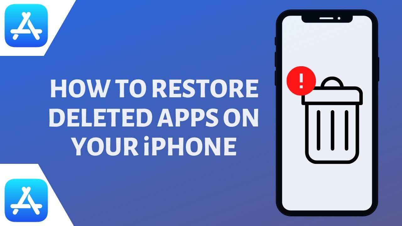 How to Restore Deleted Apps on iPhone and iPad [Guide]