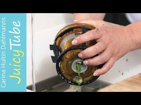 Rengjøring av din C9600 Witt by Kuvings/ Easy clean your Kuvings C9600 slowjuicer