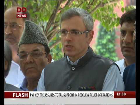 Delegation of Joint opposition from J&K meet PM Modi