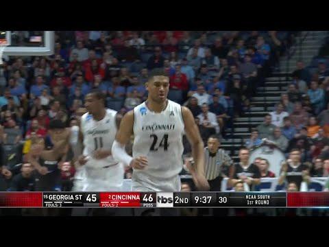 NCAA Tournament: Jarron Cumberland leads Cincinnati past Georgia State