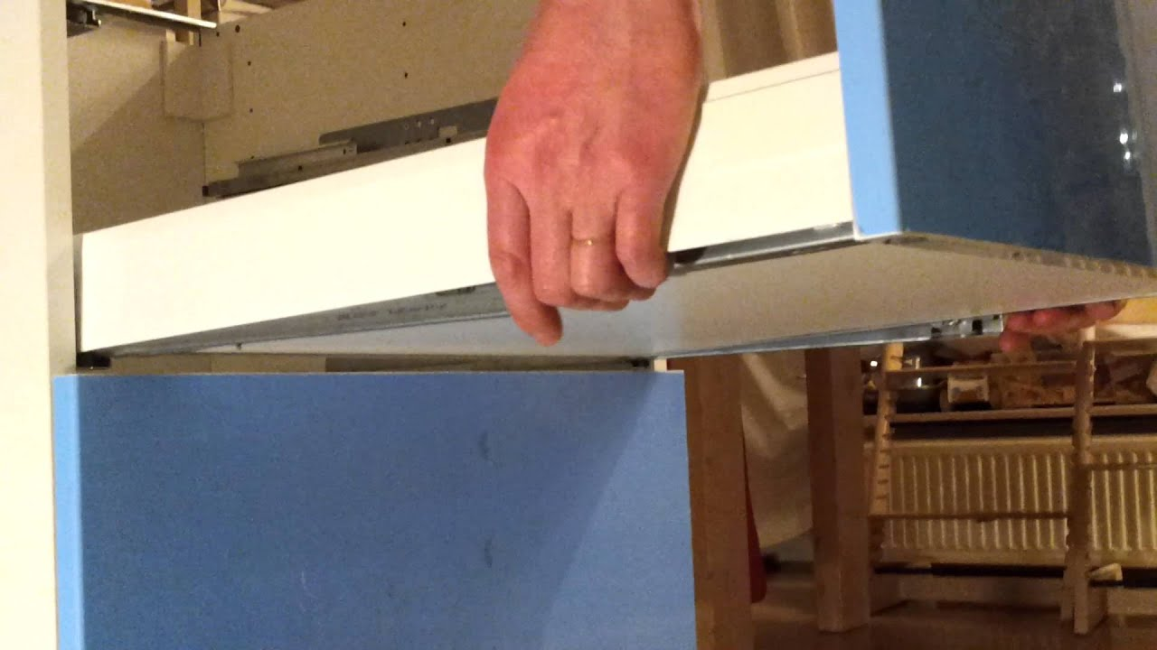 Hoe Verwijder Je De Ikea Maximera Keukenlade