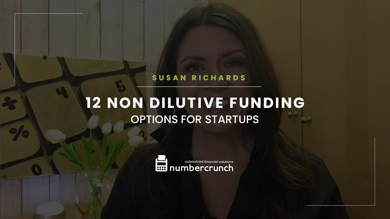 12 Non Dilutive Funding Options for Startups - Video