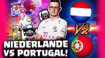 MUSS DEUTSCHLAND NOCH ZITTERN? NIEDERLANDE VS PORTUGAL!   Clash Royale Deutsch