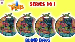 Dreamworks TROLLS Series 10 Blind BAGS Opening TOY Surprises