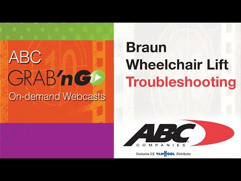 [DIAGRAM_0HG]  GG019 Grab'nGo: Braun Wheelchair Lift - Troubleshooting - YouTube | Braun Wheelchair Lift Wiring Diagram |  | YouTube