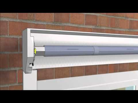 How Roller Shutters are installed