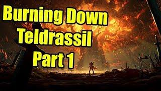 BFA Pre-Release: Burning Down Teldrassil Part 1