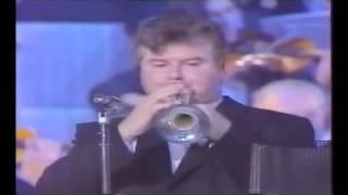 Trompette et Jean Claude PETIT   1990   Thierry CAENS