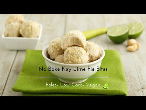 No Bake Key Lime Pie BitesLow Carb, Paleo