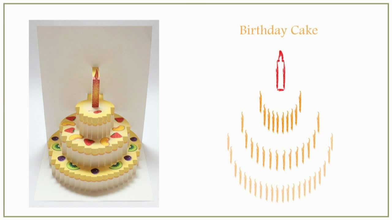 pop up birthday cake card 100 images celebrate with cake pop – Birthday Cake Pop Up Card Template