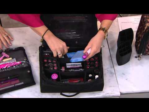 Ultimate Cosmetic Organizer Case by Lori Greiner with Mary Beth Roe