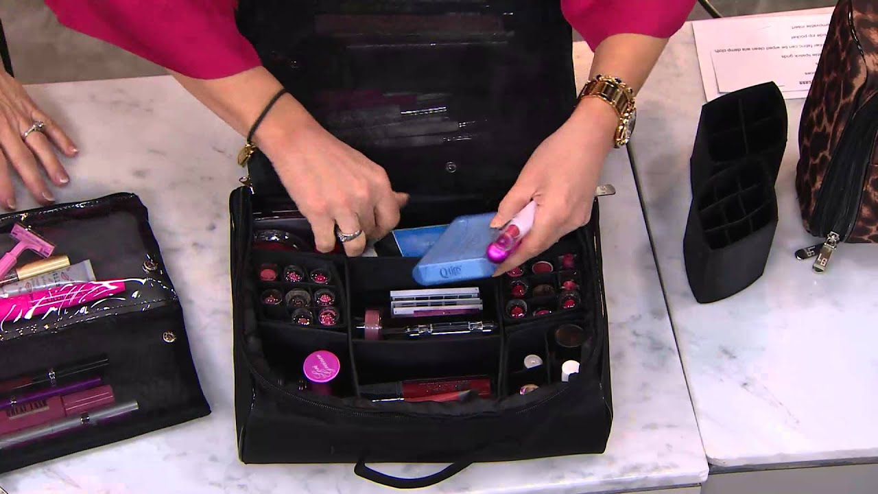 Ultimate Cosmetic Organizer Case by Lori Greiner with Mary Beth Roe -  YouTube