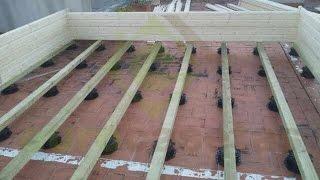 como hacer los cimientos de una casa de madera