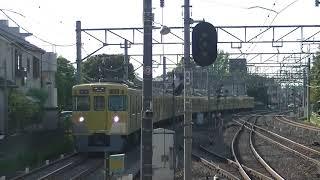 西武鉄道2連+2067F 回送→各停拝島行 小平1番到着