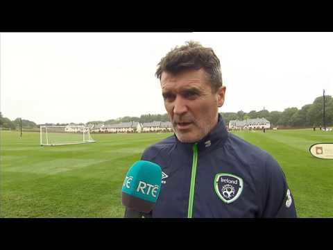 Mexico v Republic of Ireland - pre-match interview - Roy Keane (25/5/17)