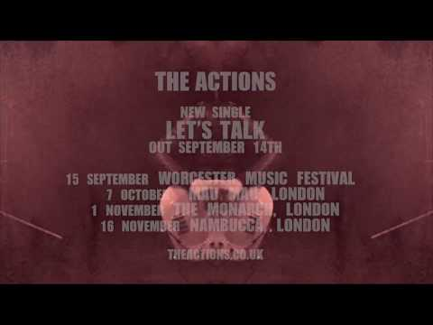 New single 'Lets Talk' out on 14th September