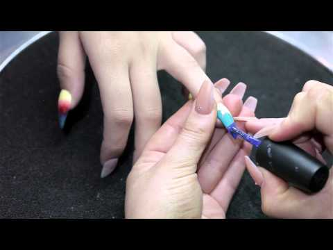 Adore Dolls Parlour + MAC Wash & Dry Nail Art Tutorial