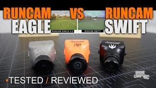 Runcam Eagle 4:3 VS Swift, TESTED & REVIEWED