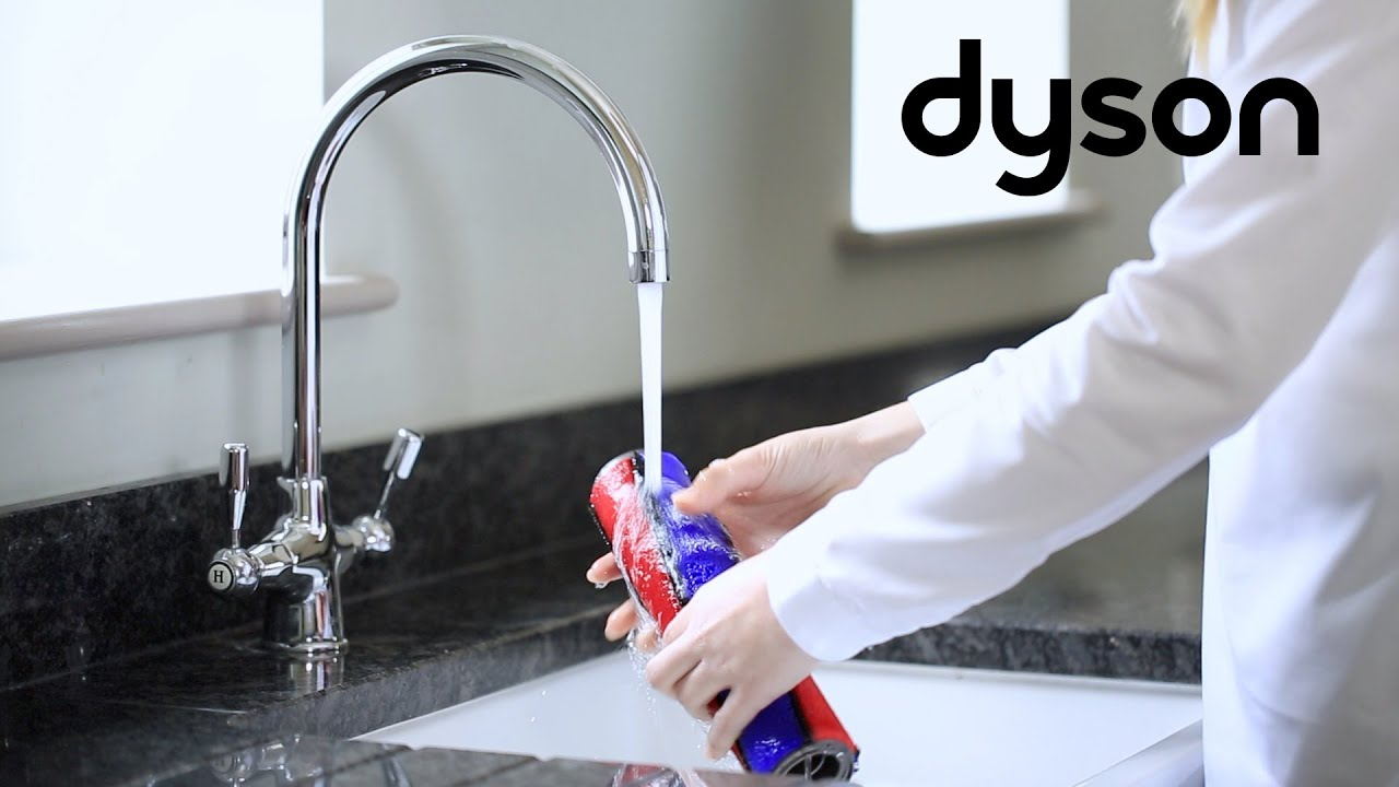 how to fully clean dyson v8 head