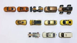 Learning the color brown, gold, beige and car names with mini cars! #RiRiGo