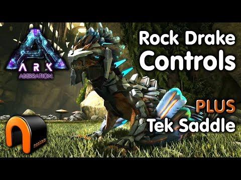 ARK - ROCK DRAKE CONTROLS - SUPER DRAKE JUMP - DRAKE TEK SADDLE Aberration