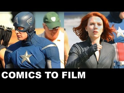 Movie Bytes - The Avengers 2012 Black Widow, Hawkeye, Captain America: Beyond The Trailer