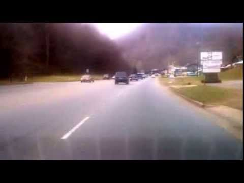 Route 19 - Smoky Mountain Drive in NC