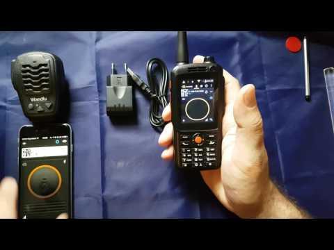 F22 Zello Portable Radio Walkie Talkie  German