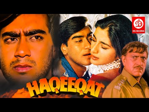 Haqeeqat - Bollywood Action Movies | Ajay Devgan, Tabu, Johnny Lever, Amrish Puri | Superhit Movies