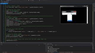 Python GUI: 7  Adding A Combobox