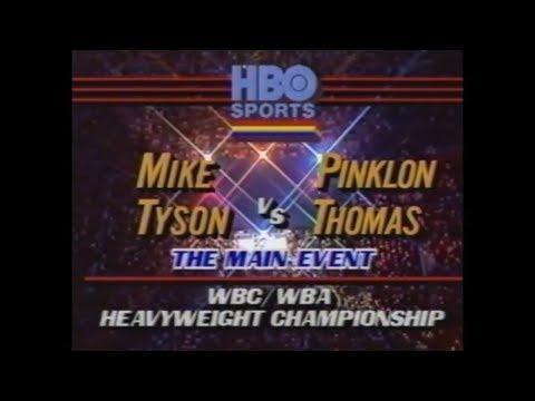 Mike Tyson Vs Pinklon Thomas - Full Fight - 5-30-1987