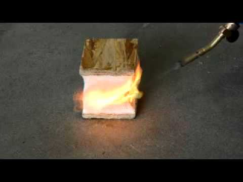 RAYCORE SIPs Panels Burn Test - Class A Fire Rated
