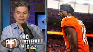 How will Emmanuel Sanders impact 49ers' offense? | Pro Football Talk | NBC Sports