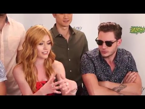 Dominic Sherwood Funny Moments Part 4