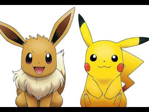 Eevee and Pikachu. - YouTube  Eevee and Pikac...