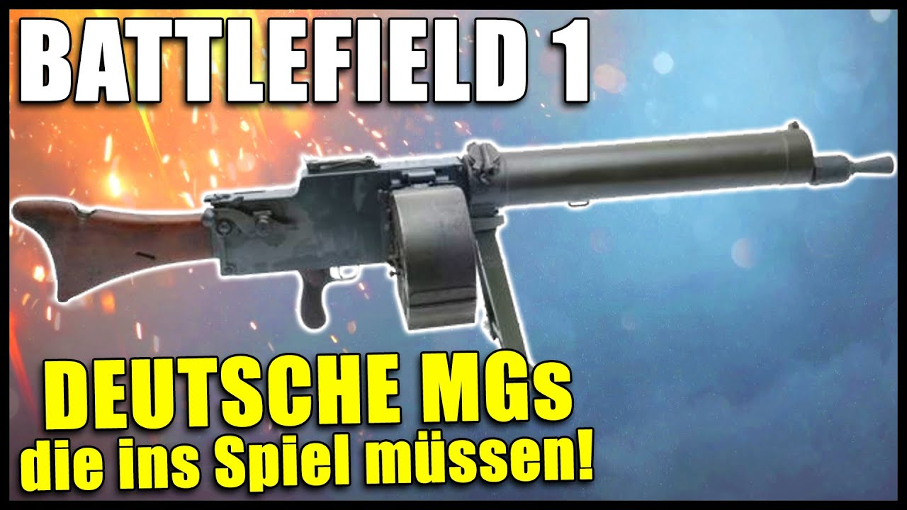 Battlefield 1 Waffen