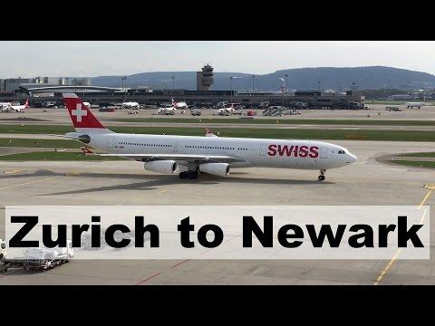 Swiss: Zurich to Newark [Flight Report]