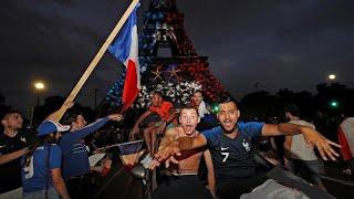 Ganz Frankreich feiert WM-Sieg: