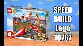 LEGO Toy Story 4 - 10767 Duke Caboom's Stunt Show - Speed Build