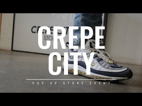 THE BEST CREPES AT CREPE CITY SHOREDITCH | POP UP TOURS