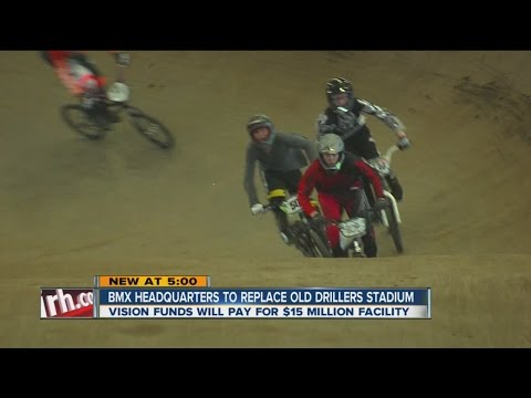 BMX Headquarters To Replace Old Drillers Stadium