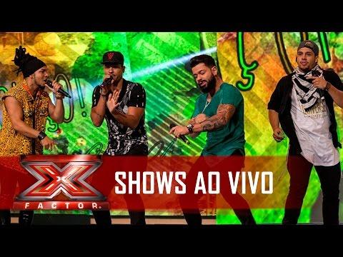 O golaço d'O Clã   X Factor BR